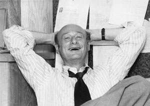 Ed Koch in the office of his campaign manager, David Garth, September 1977. The New York Post