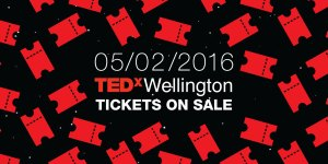 TEDxWellington tickets are on sale 05/02/2016