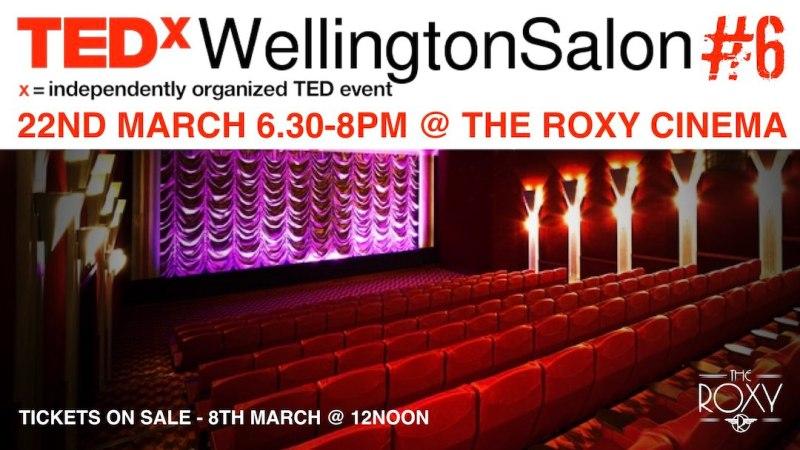 TEDxWellySalon 6 pre announcment