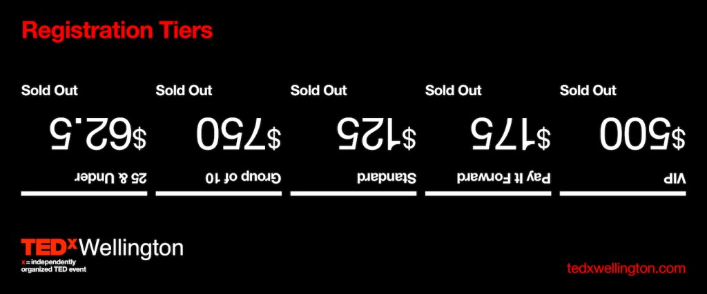 TEDxWellington-SOLD-OUT