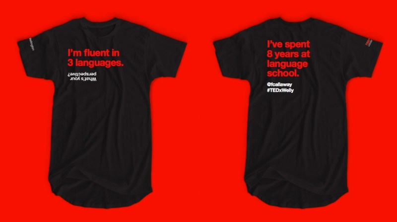 TEDxWelly 2017 tees