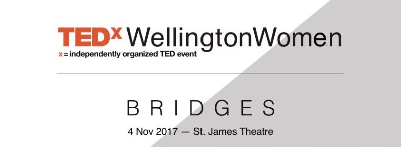 TEDxWellingtonWomen announcement logo