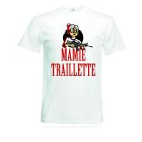 Tee-shirt Mamie traillette t-shirt ma mitraillette