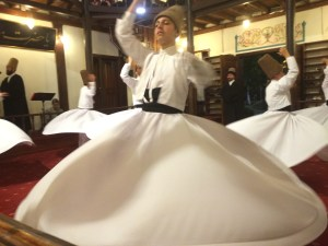 Whirling Dervish. Bursa, Turkey