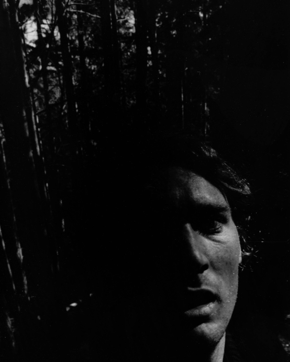 selfie, 1990s, film, black and white, print