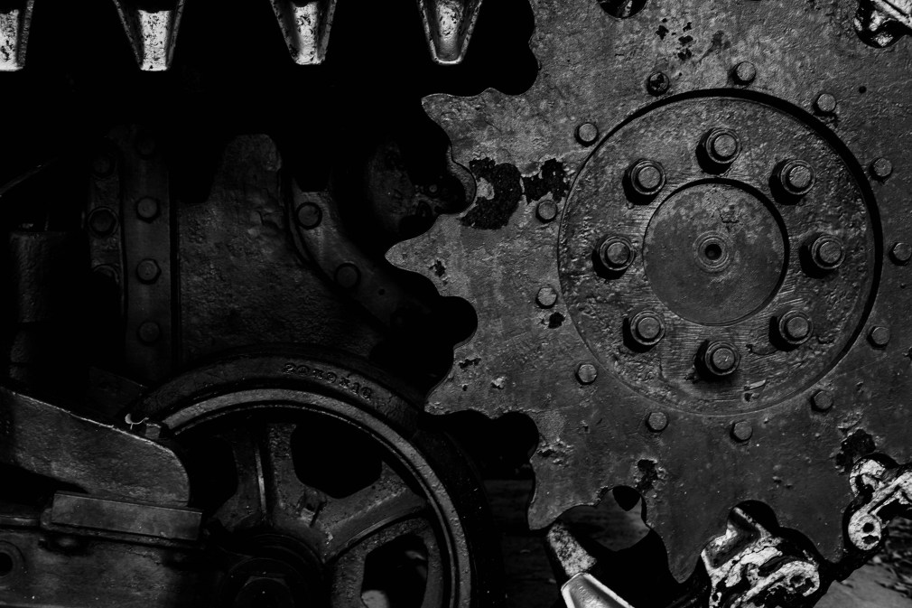 gears, engineering, tank, machine