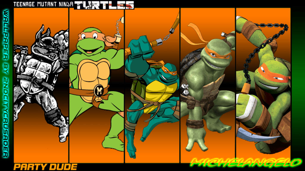 Tmnt Michelangelo Biography Teenagemutantninjaturtles Com