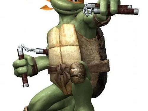 Michelangelo TMNT 2007 Movie Teenage Mutant Ninja Turtles