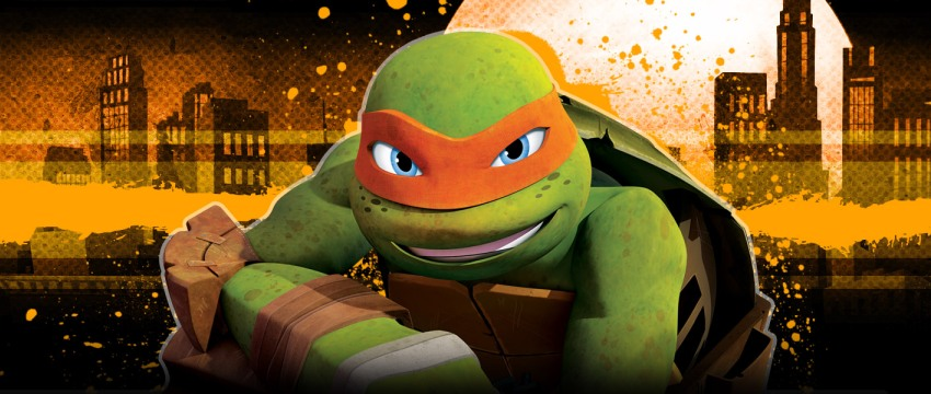 Ninja Turtles Michelangelo cover photo