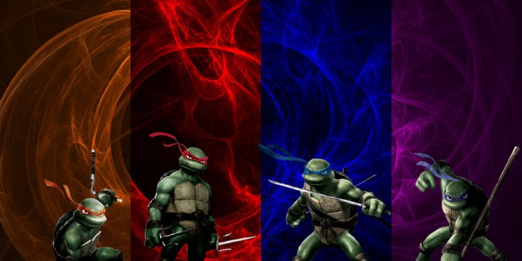 TMNT Fractal Wallpaper by the14thgod | TeenageMutantNinjaTurtles.com