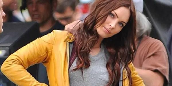 Megan Fox as April O'Neil for Paramount's Teenage Mutant Ninja Turtles movie.