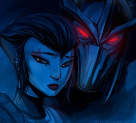 Master Shredder and Karai TMNT Teenage Mutant Ninja Turtles Lorna-Ka Tumblr