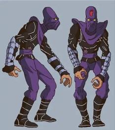 The Foot Clan 1987 series TMNT Teenage Mutant Ninja Turtles