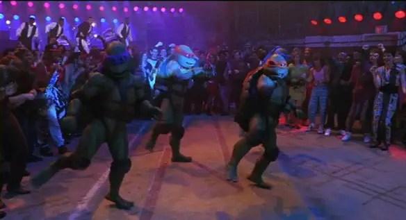 Ninja Rap Dance TMNT Ninja Turtles The Secret of the Ooze