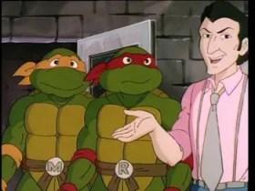 Vernon Fenwick Will Arnett character TMNT Teenage Mutant Ninja Turtles Movie