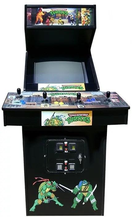 Turtle Bits: TMNT Hit Wall Street, Original Arcade Game Giveaway
