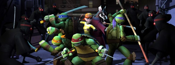 Nickelodeon Teenage Mutant Ninja Turtles Showdown 5