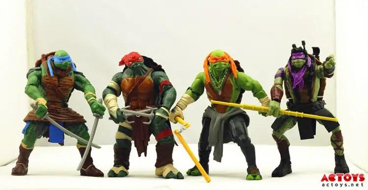TMNT 2014 Movie Toys Group