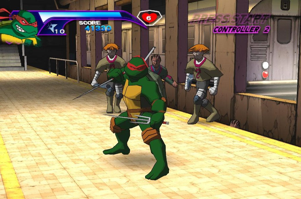 Totally Turtle Games Teenage Mutant Ninja Turtles 2003 Teenage Mutant Ninja Turtles Fan Site