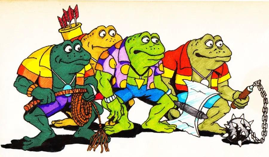 The Punk Frogs Teenage Mutant Ninja Turtles Fan Site
