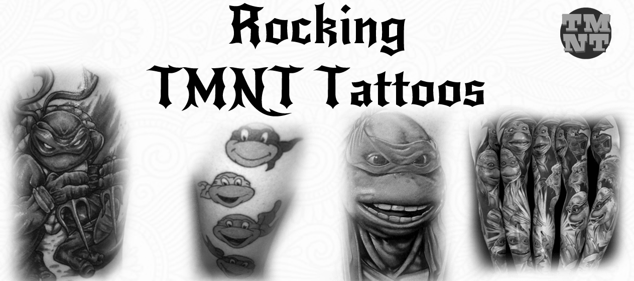 15 Magnificent Ninja Turtles Tattoos