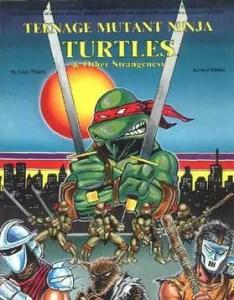 Teenage Mutant Ninja Turtles & Other Strangeness Role Playing Guidebook. Image Source: Palladium Books.