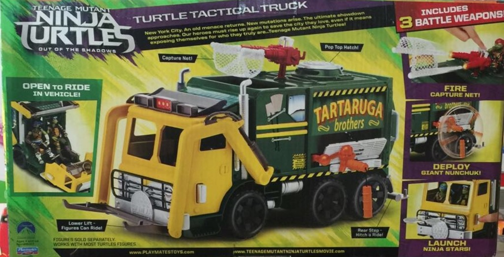 Merchandise such as this could bring in enough money to convince Paramount to continue their plans for TMNT 3. Image Source: Playmates Toys.