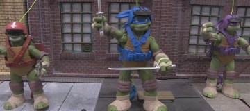 New Playmates TMNT toys at Toy Fair 2016