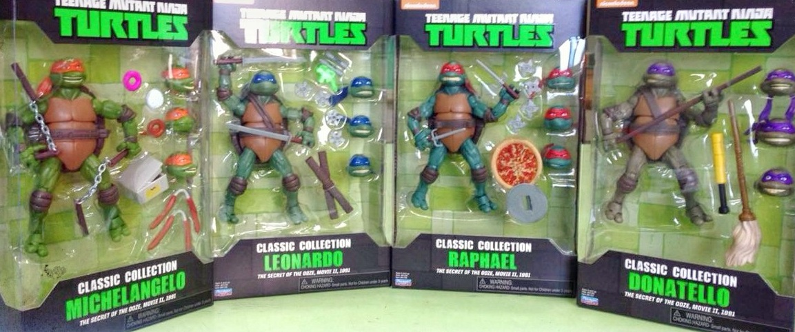 Tmnt Toys Based On The Secret Of The Ooze Coming Soon
