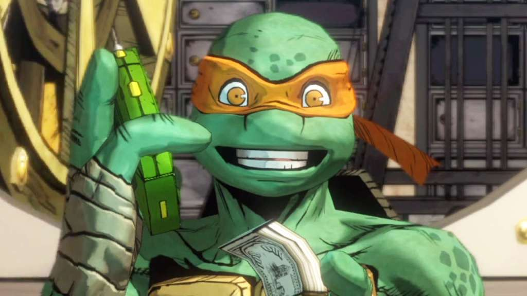 Image of Michelangelo in Teenage Mutant Ninja Turtles: Mutants in Manhattan. Source: Activision, Platinum Games
