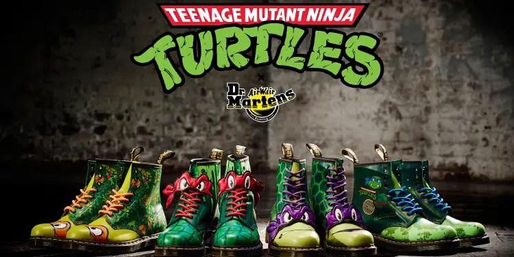 dr martens releases teenage mutant ninja turtles shoes