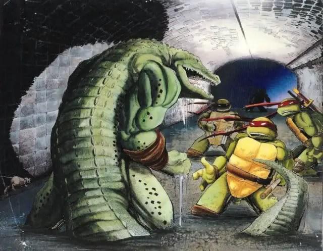 Could Leatherhead be in Teenage Mutant Ninja Turtles 3? Image Source: Mirage Comics.