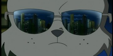 Usagi Yojimbo wearing sunglasses in the 2k3 series. Image Source: 4Kids.