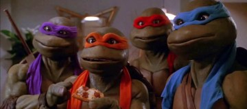 All three of the original 90's TMNT movies are now available on Amazon Prime's Instant Video service. Image Source: Teenage Mutant Ninja Turtles II: The Secret of the Ooze.