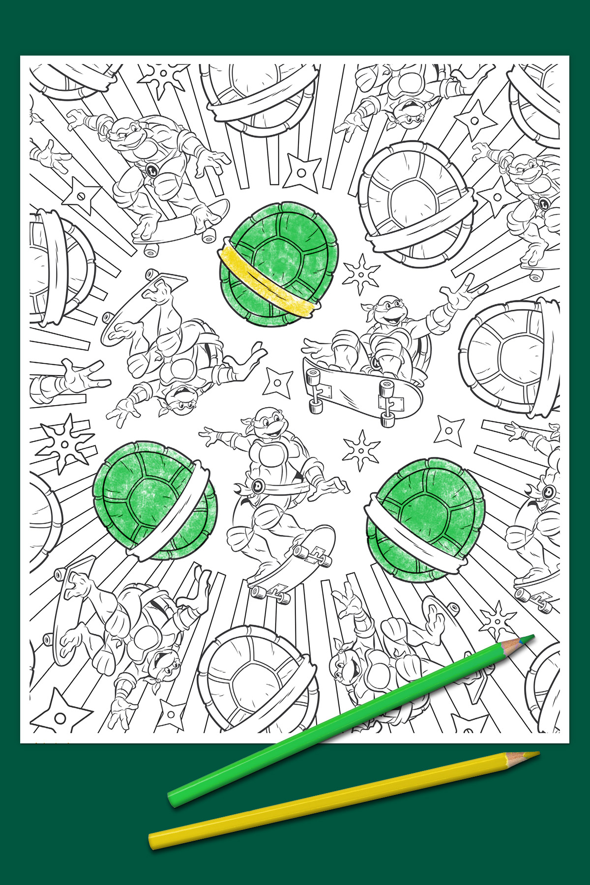 New Adult TMNT Coloring Book From Random House Hits The Market