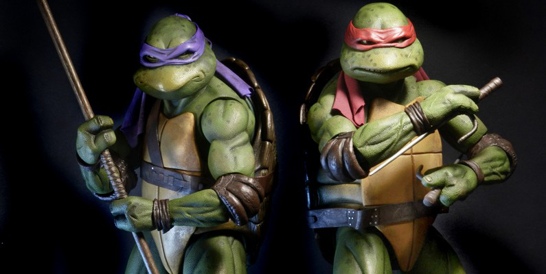 Donny is ready to join Raph in a fight against the evil Shredder! Image Source: NECA.