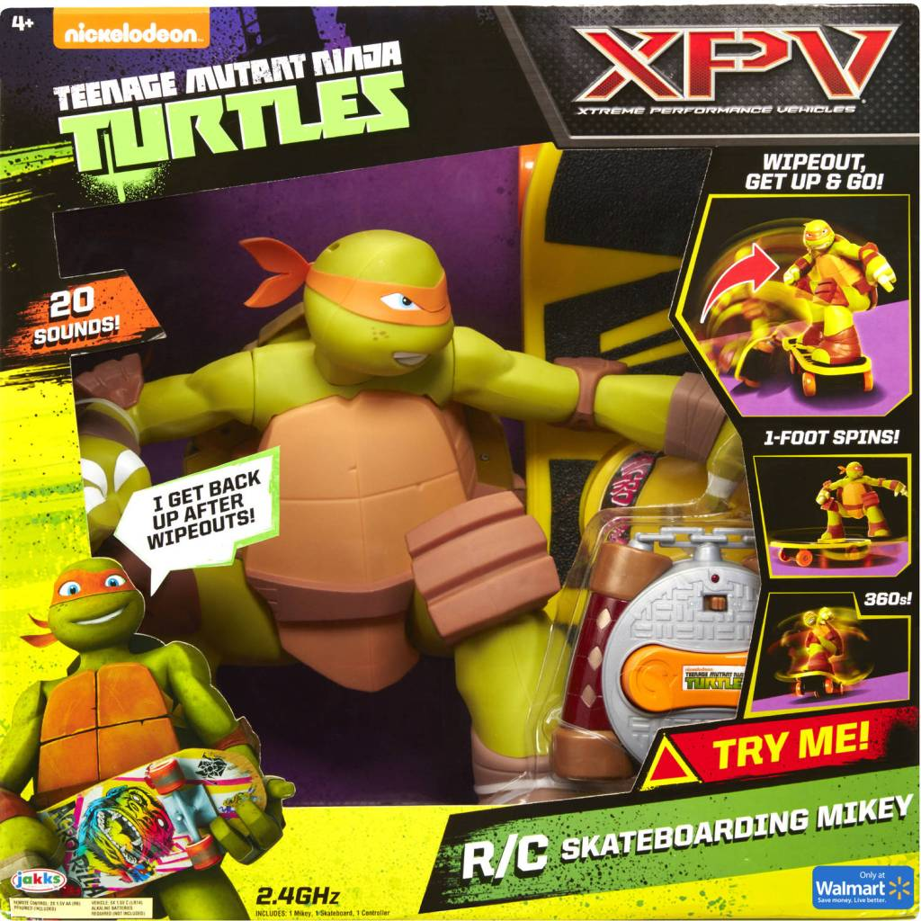 RC Mikey Toy. Image Source: Playmates Toys.