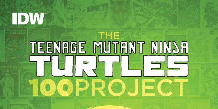 Get ready for an awesome collection of TMNT cover variants! The Teenage Mutant Ninja Turtles 100 Project Art Book is headed to stores in just a few months! Image Source: IDW.