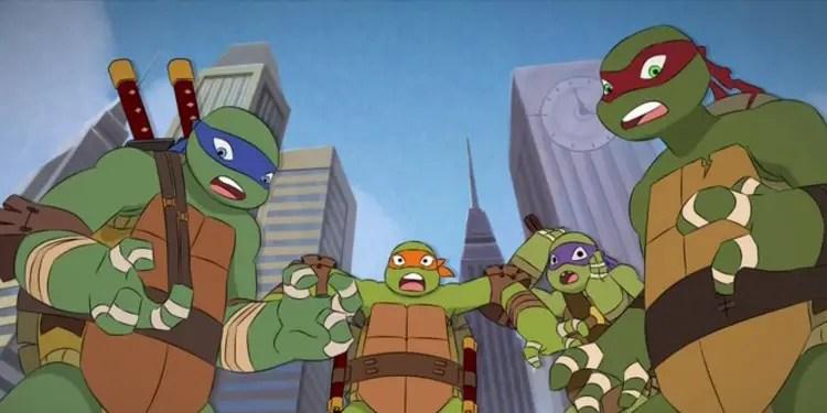 It looks like Nick is getting ready for Rise of the Teenage Mutant Ninja Turtles in 2018! Image Source: Nickelodeon.