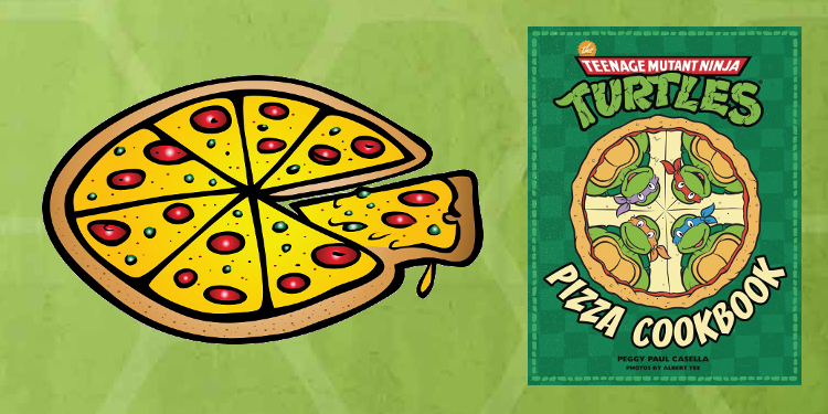 Anyone else ready for some oddly terrific or strangely horrible pizzas? Image Source: Insight Editions.