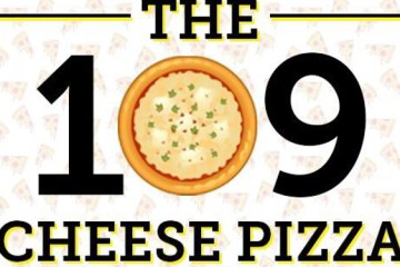 Just when you thought that they had gone too far with a 101 cheese pizza, this pizzeria has gone even further with their 109 cheese pizza! Image Source: Letizia's Pizza.