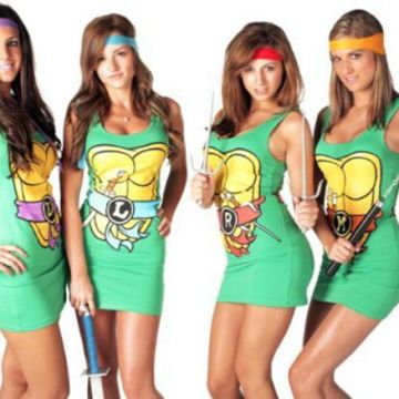 Ninja Turtles Character Tank Dresses