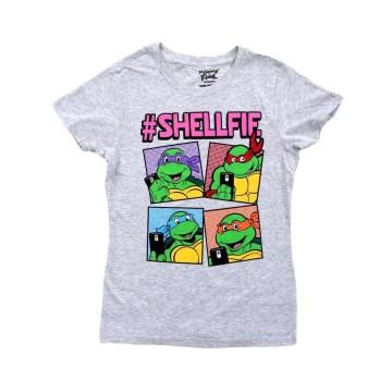 Ninja Turtles Shellfie Juniors T-Shirt
