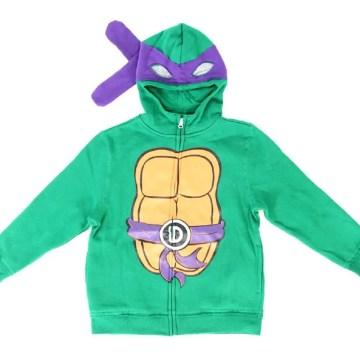 TMNT Boys Character Costume Zip Hoodie