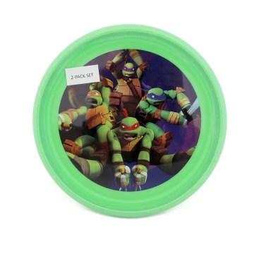 Nickelodeon Ninja Turtles 2 Pack Plates