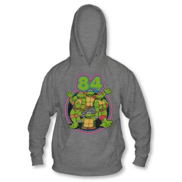 Classic Ninja Turtles 84 Heather Gray Hoodie