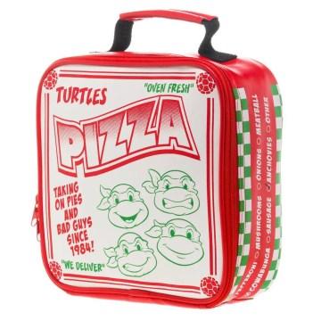 Ninja Turtles Pizza Box Insulated Lunchbox Cooler