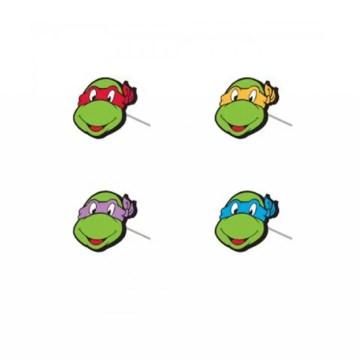 Ninja Turtles Classic Faces Stud Earrings