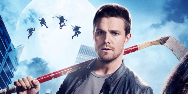 Stephen Amell is still gunning for the role of Casey Jones. Image Source: Paramount Pictures.