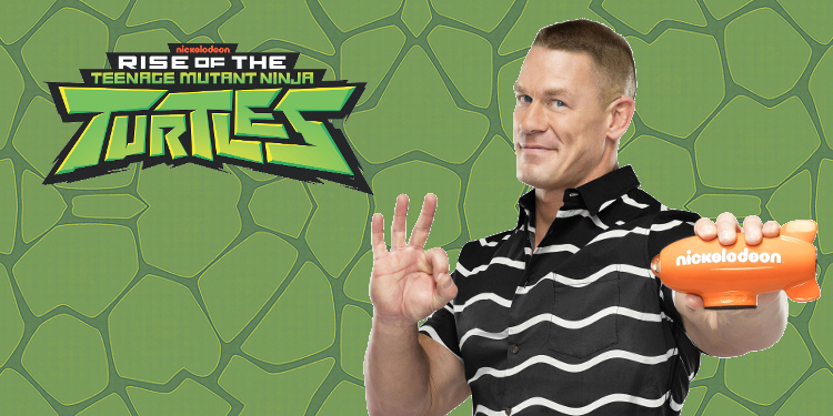 None other than John Cena will be taking on the role of a new villain in Rise of the TMNT. Image Source: Nickelodeon.